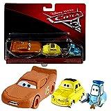Disney Cars 3 Cast 1:55 - Selección Modelos de Vehículos Doble Pack, Cars Doppelpacks 2017:McQueen Whipplefilter & Luigi & Guido