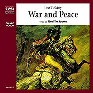 War and Peace                   Written by:                                                                                                                                 Leo Tolstoy                               Narrated by:                                                                                                                                 Neville Jason                      Length: 5 hrs and 9 mins     Not rated yet     Overall 0.0
