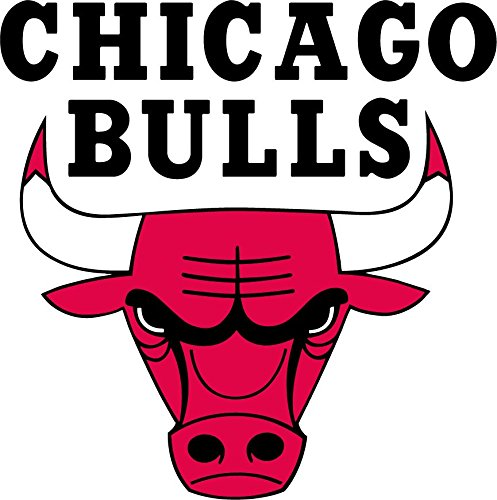 chicago bulls wall decal - 1