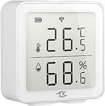 WT-DDJJK Monitor de Humedad, Monitor de Humedad de Temperatura WiFi Tuya para Sensor de termómetro Interior inalámbrico