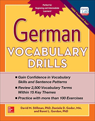 German Vocabulary Drills (NTC FOREIGN LANGUAGE)