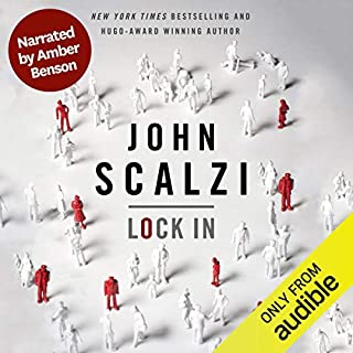 Lock In (Narrated by Amber Benson) audiobook cover art