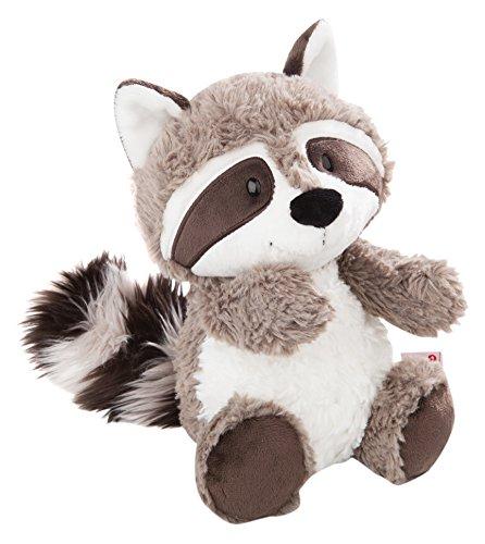 NICI 41141 Kuscheltier Waschbär Rod 35cm-Plüschtier für Mädchen, Jungen&Babys-Flauschiges Stofftier zum Kuscheln, Spielen und Schlafen-Schmusetier Forest Friends