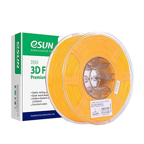 eSUN Flexible TPE Filament 1.75mm, TPE 83A 3D Printer Filament, Dimensional Accuracy +/- 0.05mm, 1KG (2.2 LBS) Spool 3D Printing Filament for 3D Printers, Yellow