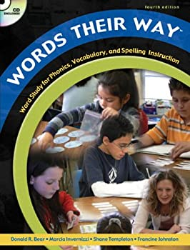 Paperback Words Their Way: Word Study for Phonics, Vocabulary, and Spelling Instruction, 4th Edition (Book, CD & DVD) Book