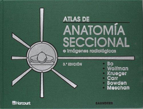 Atlas de anatomía seccional e imágenes radiológicas