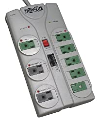 Tripp Lite 8 outlet power strip