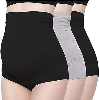 Over Bump Bamboo Pregnancy Underwear Multipacks OLCHEE Womens Seamless High Waist Maternity Panties
