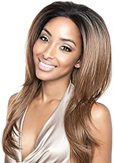 BS401 (P1B/30) - Mane Concept ISIS Brown Sugar Human Hair Blend Swiss Whole Lace Wig