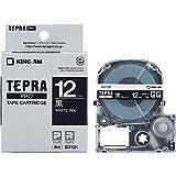 キングジム テープカートリッジ テプラPRO SD12K 黒 12mm
