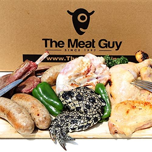 ミートガイ ワニ肉入りインパクト大 BBQセット 1.7kg 4-6人前 【販売元:The Meat Guy(ザ・ミートガイ)】
