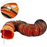 Mophorn Conducto Flexible de PVC Ventilador 7,6 m Di/ámetro de 15,5 cm Manguera de Conducto Flexible de PVC Conducto de Ventilaci/ón Tubo de Manguera de Ventilaci/ón Conductos de Aire de PVC Ign/ífugo