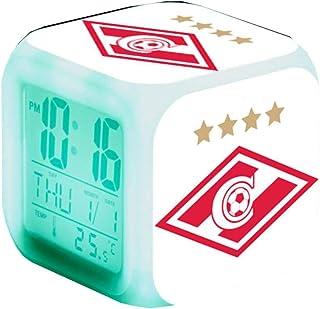 PFC CSKA Moscow Football Team LED Alarm Clocks Russia Team Digital Alarm Clock Luminous Lamps Watch