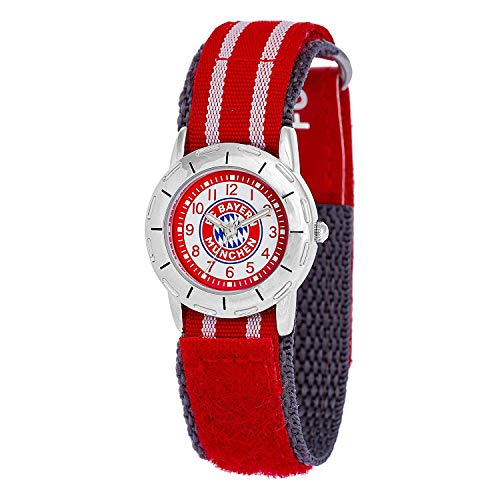 FC Bayern München kinderhorloge gratis sticker München Forever, horloge, horloge, watch digitaal watch, watch regarder 23391