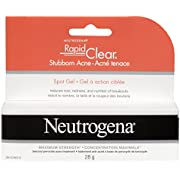 Neutrogena Stubborn Acne Spot Treatment Gel for Breakouts, with Benzoyl Peroxide, 28g