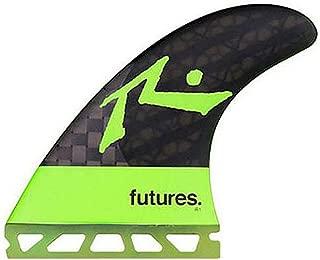 Future Fins R1 Vector II Blackstix 3.0 V2R1 Thruster Surfboard Fin Set Carbon Fiber