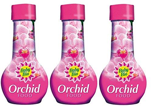 3 x Baby Bio Engrais pour orchidée Nourriture Engrais 175 ml
