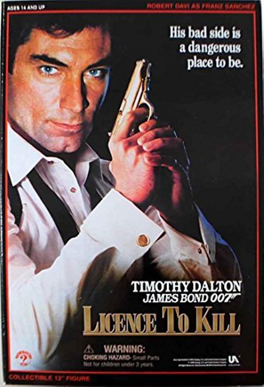 Envío rápido y el mejor servicio James Bond License License License To Kill Collectors Figura- Robert Davi as Franz Sanchez by James Bond Collectible Figuras 1 6 Scale  los últimos modelos