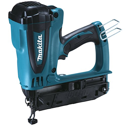 Makita GF600SE 7.2V Li-Ion Second Fix Gas Nailer Complete with 2 x 7.2V Batteries and Charger Supplied in A Carry Case