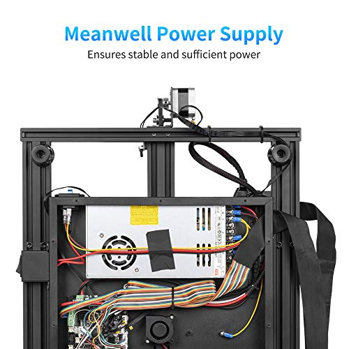 """Sovol SV02 3D Printer with All-Metal Dual Extruder Silent Mainboards TMC2208 Drive Meanwell Power Supply  4.3 inch Touchscreen 240 x 280 x 300 mm"" - 4"