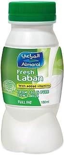 al-Marai Laban Full Fat 180 ml added Vitamins Hdpe