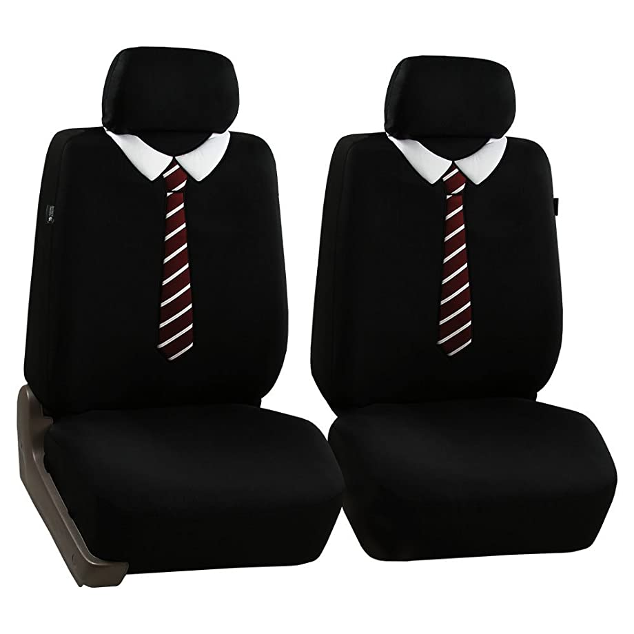 FH Group FB058TIE102 Seat Cover (Endearing Tie Airbag Compatible (Set of 2))