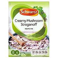 [Schwartz] シュワルツクリーミーなキノコストロガノフレシピミックス(35グラム) - Schwartz Creamy Mushroom Stroganoff Recipe Mix (35g) [並行輸入品]