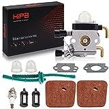 Hipa C1Q-S97 Carburetor for STHIL FS55 FS55R FS38 FS45 FS46 KM55 HL45 FS45L FS45C FS46C FS55C FS55RC String Trimmer Weed Eater