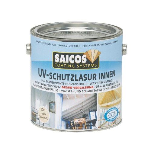 Saicos Colour GmbH 501 7701 UV-Schutzlasur, farblos, 2,5 Liter