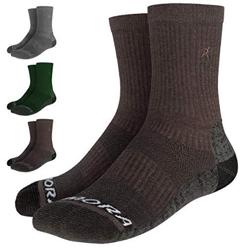 Rymora Merino Wool Walking Hiking Socks for Men & Women