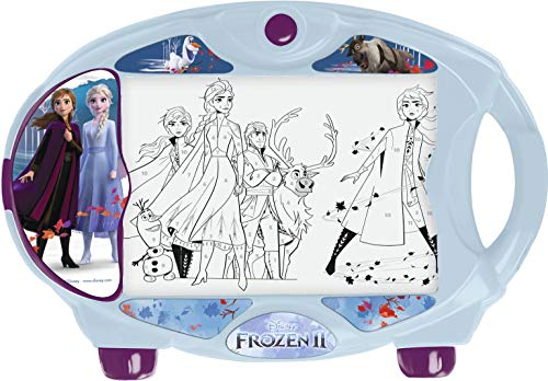 Magic Artist - Light Box Frozen 2, Pizarra para Niños y Niñas a Partir de 3 Años, Multicolor (Famosa 700015365) , color/modelo surtido