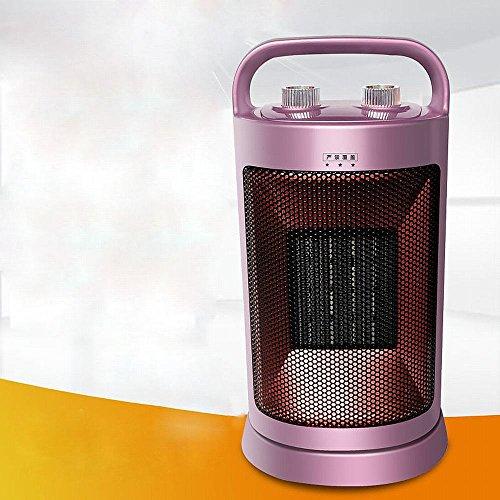 JRM Calentador Ahorro de Energía Calentamiento Del Hogar Calentador Calentador Baño Calefactor Eléctrico Calefacción de Oficina Ventilador Calefacción,Púrpura
