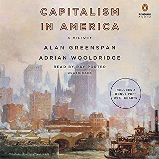 Capitalism in America audiobook cover art
