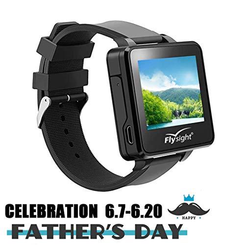 Flysight Reloj FPV, reloj FPV 5.8Ghz Recevier Monitor, 5.8 Wireless RC Video Watch 32 CH HD 2