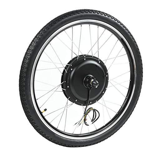 FOLOSAFENAR Kit Completo de Motor de buje Kit de conversión de Bicicleta eléctrica Kit de Motor de Bicicleta eléctrica, Adecuado para Ruedas de 26(Precursor)