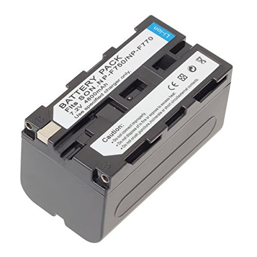 Hight Capacity 7.2V 4800MAH Li-ion NP-F750/ 770 / 730 Battery For Sony -  FOTO AMORE 616, SOMA_CAM_PHO_TH_0603