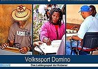 Volkssport Domino - Das Lieblingsspiel der Kubaner (Premium, hochwertiger DIN A2 Wandkalender 2022, Kunstdruck in Hochglanz): Dominospieler in den Strassen Havannas (Monatskalender, 14 Seiten )