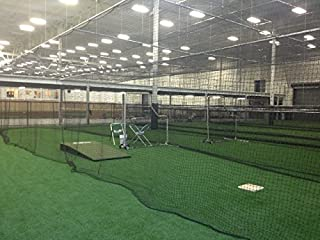 EXCURSIONS Baseball Batting Cage Net Netting #42 (54 Ply) Professional Commercial Quality