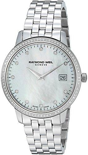 RAYMOND WEIL TOCCATA RELOJ DE MUJER DIAMANTE CUARZO 45MM 5388-STS-97081