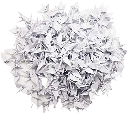 1000 Origami Paper Cranes Color 3.81 Max 40% OFF Free shipping anywhere in the nation Mixed