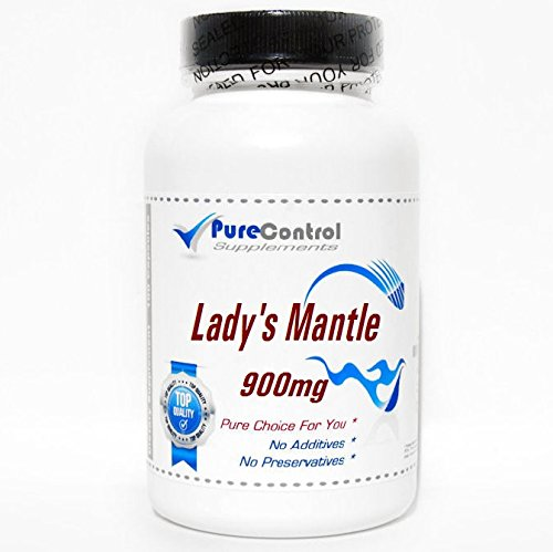 Lady's Mantle 900mg Alchemilla vulgaris // 90 Capsules // Pure // by PureControl Supplements