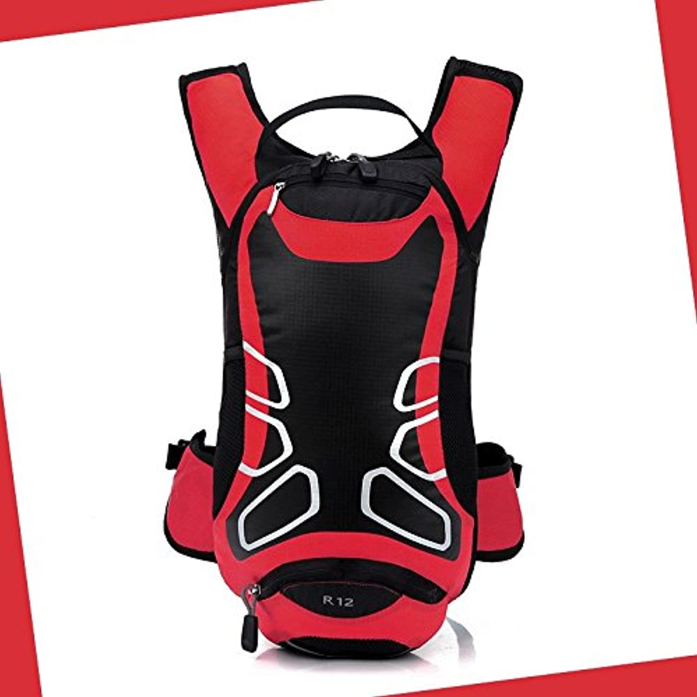 Hongrun  Echte Doppel Schulter Pack Bike Rucksack Wasser Tasche Rucksack 12 L B07BSHX27D  Karamell, sanft