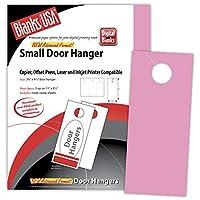 明るいピンクSmall Door Hangers–150のパック