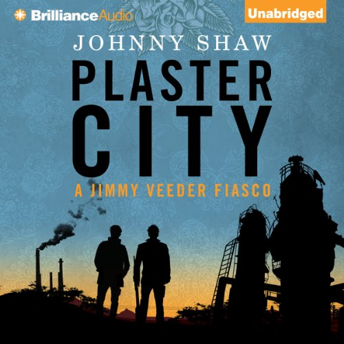 Plaster City audiobook cover art