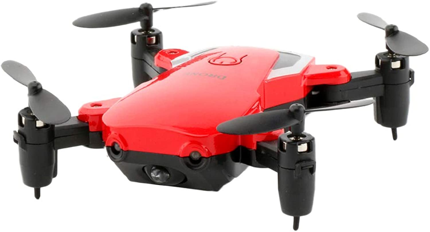 Fenteer Mini Drone RC Quadcopter Best Drone for Kids RC Helicopter Plane with Altitude Hold  Red, As described