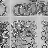 Kit assortimento guarnizioni rondella a molla ondulata, kit assortimento rondelle elastich...