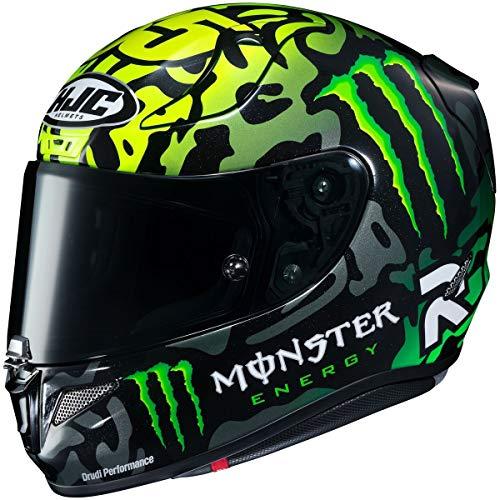 HJC RPHA 11 Pro Helmet - Crutchlow Special 1 (Medium) (Black/Green)