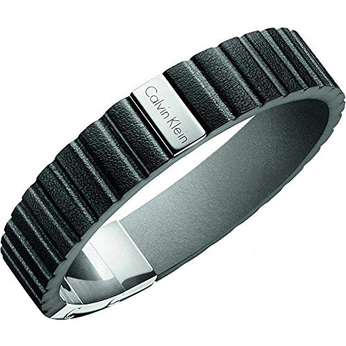Joyería para Calvin Klein Jewellery Plate Leather Bracelet KJ5SBB090100