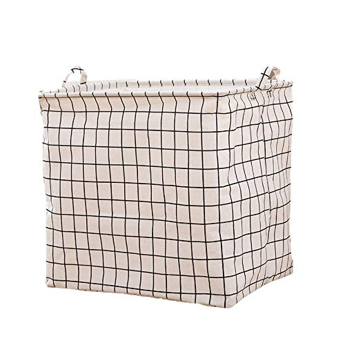unknow Storage Box, 2 Pieces Of Cotton And Linen Waterproof Fabric Storage Bag, Quilt Clothing Storage Basket