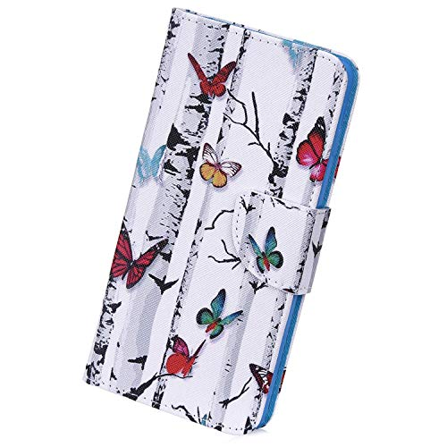 Check Out This Herbests Compatible with Samsung Galaxy A20e Wallet Case Retro Art Paint Shockproof P...